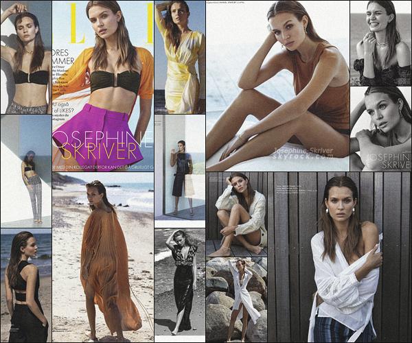 -  • •-Josephine fait la couverture du magazine « Elle Denmark » ed. ▬ Juillet 2019 ! -
