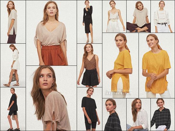 -  • •  Miss Josephine Skriver pose pour la nouvelle collection de la marque H&M ! -
