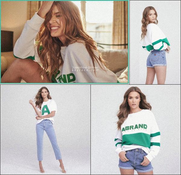 -  • • Campagne publicitaire de Josephine pour sa collaboration avec Abrand Jeans ! -