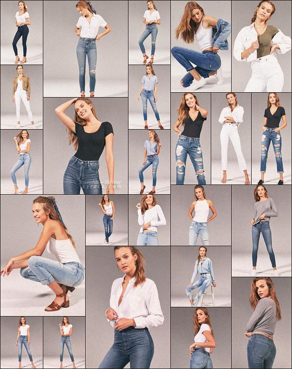-  • • Josephine pose pour la nouvelle collection de la marque Abercrombie & Fitch ! -