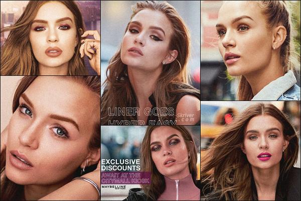 -  • •-Nouvelles photos de différentes campagnes publicitaires de Jo pour Maybelline ! -