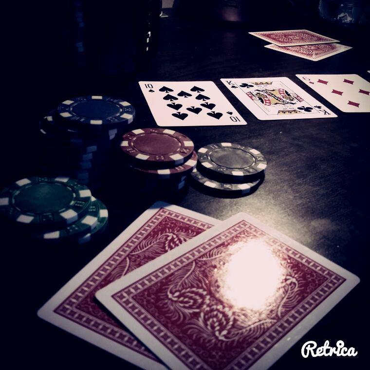 Coup de foudre ou coup de poker, c'est pareil.