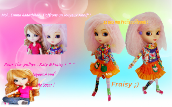 ♥ Vos Cadeaux pour Fraisy ♥