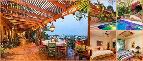 Notre belle Kristen vient tout juste de s'acheter une villa à Los Angeles. Elle devient donc,réellement la nouvelle voisine de son boyfriend,Rob. La villa lui a coûté plus de 2 millions de dollars et est composées de quatre chambres et d'une magnifique piscine!