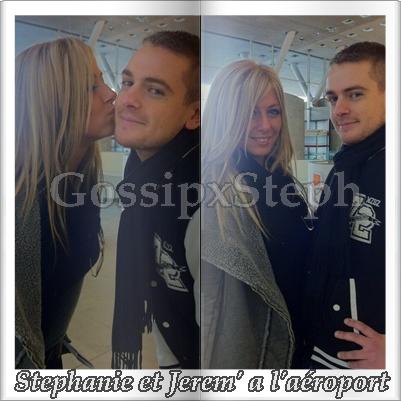 -GossipxSteph.Sky'            *            -  Stephanie et Jerem a l'aéroport