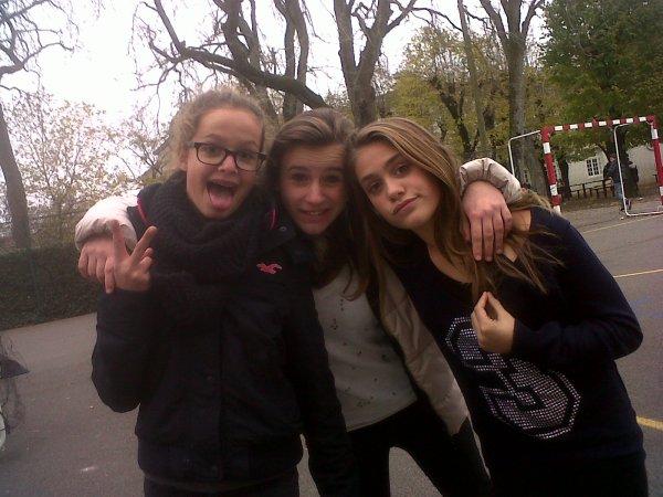 Margaux ♥ avec Maelle, Noélie et Camille