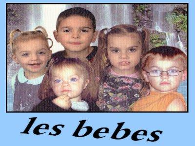 Voici ma raison de vivre, mes petits enfants, je les aimes + que tout, je les adores.              8) (l) 8-p (l) :D (l) $) (l) ;) (l) ^^ (l)