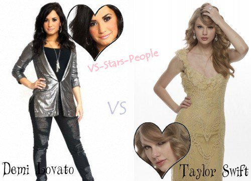 Demi Lovato VS Taylor Swift
