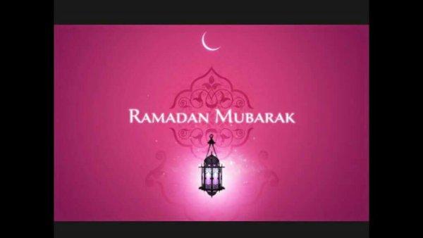 Ramadan mubarak à tous