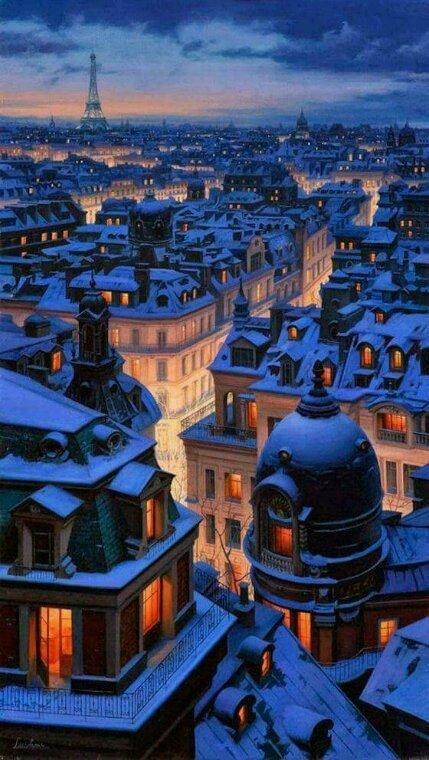 Paris j arrive bientôt
