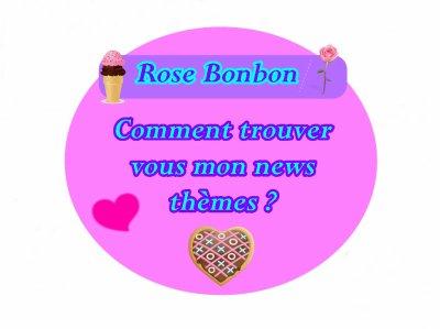 Rose Bonbon ♥