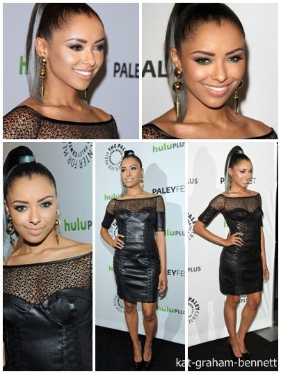 quelques photos de Kat à la PaleyFest Groupe le 10 mars 2012.