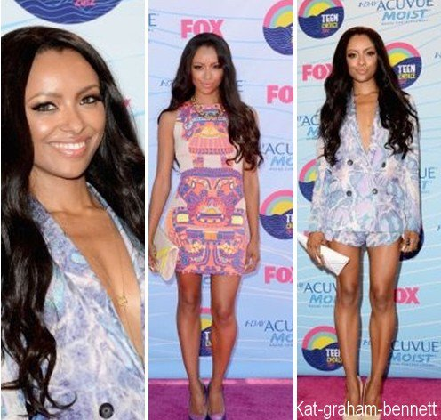 Kat  aux Teen Choice Awards 2012 + Backstage Creations Celebrity Retreat at Teen Choice 2012