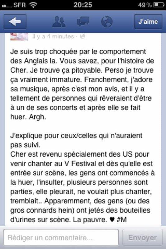 Pour les fans de Cher Lloyd (dont moi).