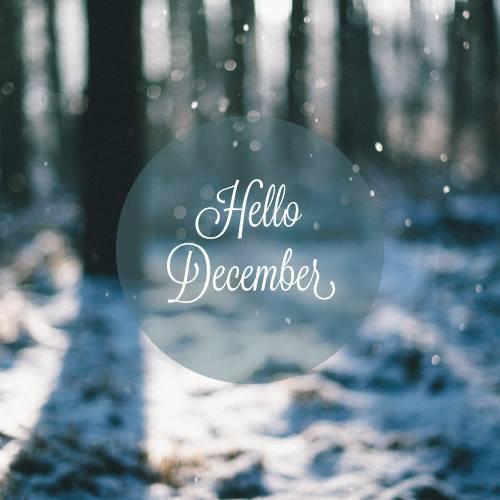 Hello December ! ♥