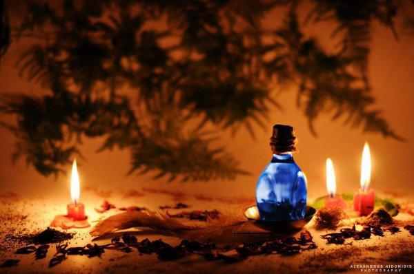 Huile magique pour la gratitude