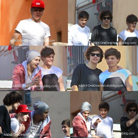 Vidéo Diary + 11 Mai + 12 Mai + 13 Mai + Interview Liam, Louis et Harry + Photoshoot + Louis confessions + Harry danse.