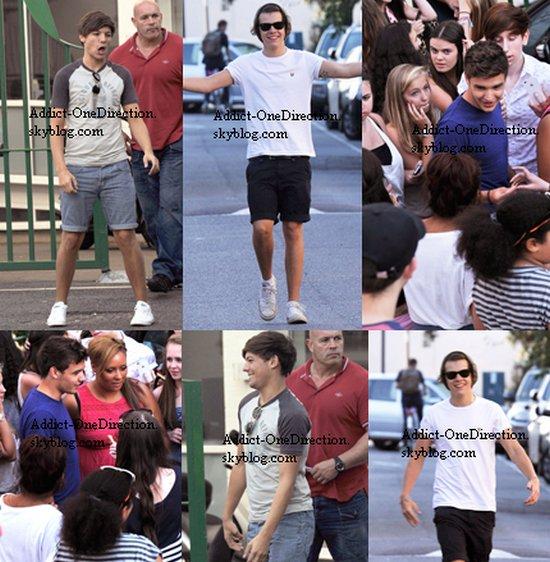 Journée du 25 Juillet + Twitcam Niall + Journée du 26 Juillet + Harry et Niall le 27 Juillet + Harry le 28 Juillet + Vidéo.