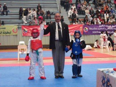 youbix au championat national de kenpo
