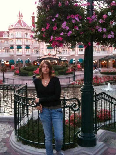 Moi à  Disneyland !!