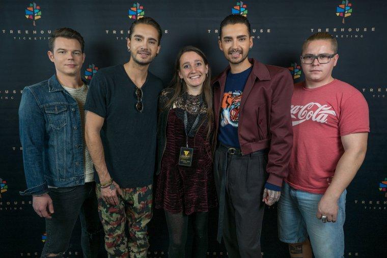 Ma rencontre avec les Tokio Hotel, mes idoles, à Marseille au Silo 2017