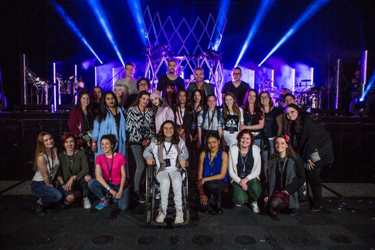 Une rencontre avec les Tokio Hotel à l'Olympia 2017