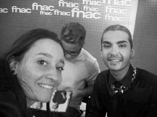 Séance dédicace des Tokio Hotel fnac Saint Lazarre 2014
