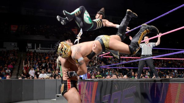 Résultat WWE 205 Live du 10 octobre 2017