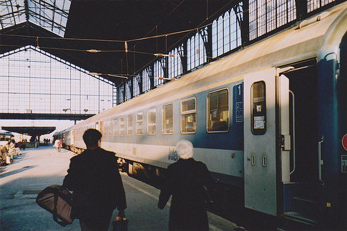 Les voyages en train.