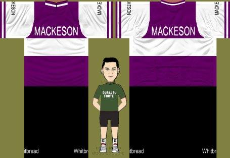MACKESON WHITBREAD (1969) Royaume-Uni