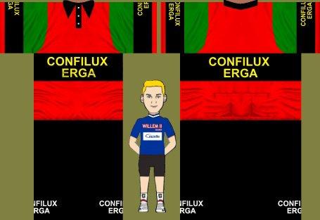 CONFILUX ERGA (1964) Amateur Belgique