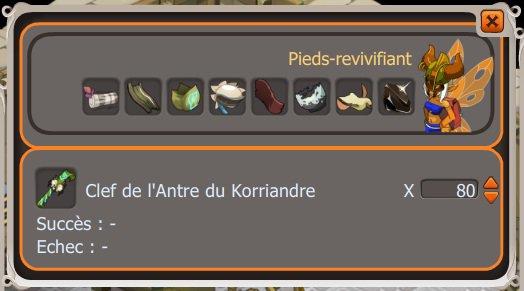 crafte clefs Koriandre