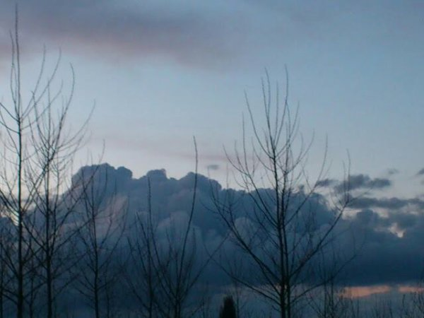 Les nuages.