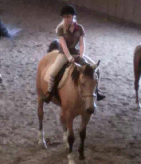 L'équitation.