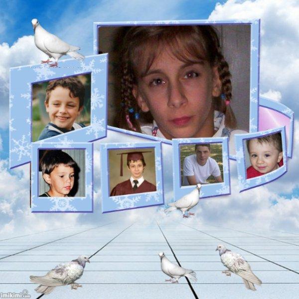 Une belle pensées pour nos Anges d'amour Merci a ma petite soeur de Coeur Annick Tendresse et Amitié gros bisous