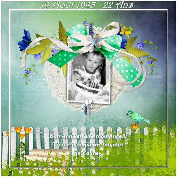 Bon anniversaire Mon Ange Simon.....