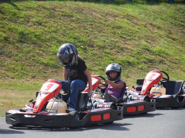 une journee au karting