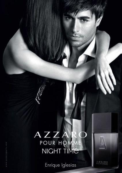 Enrique Iglesias : Azzaro pour Homme Night Time