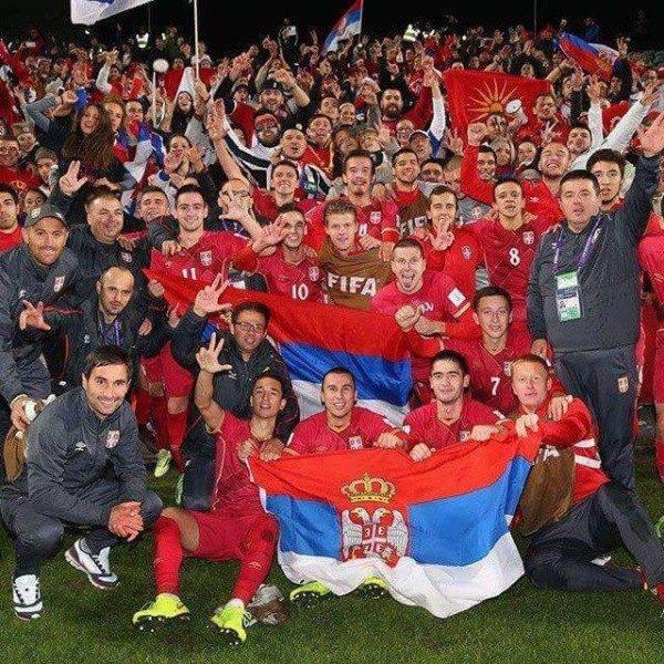 Serbie Champion du Monde -20ans !!!!