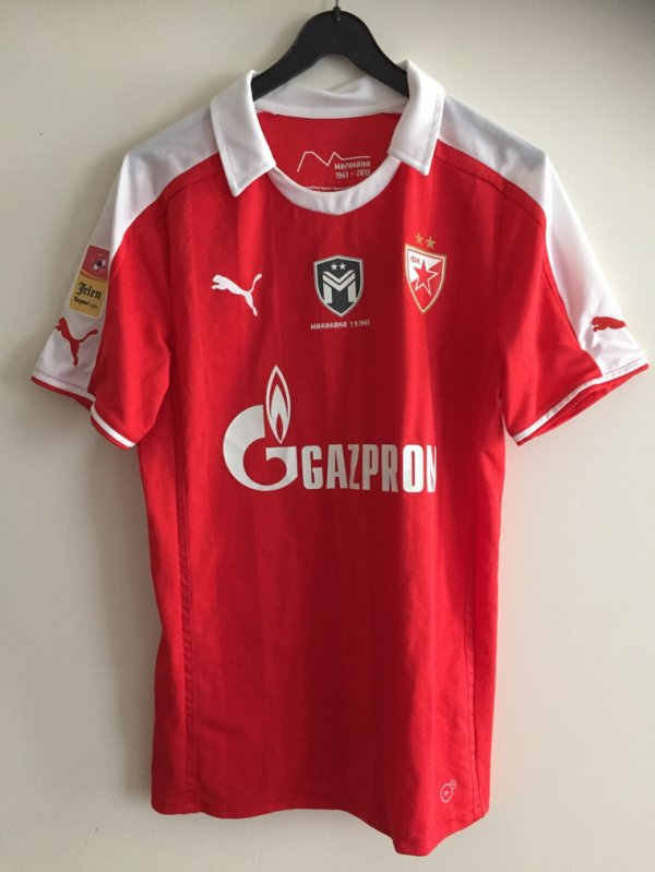 Red Star Belgrade Marakana Shirt Omega No.30