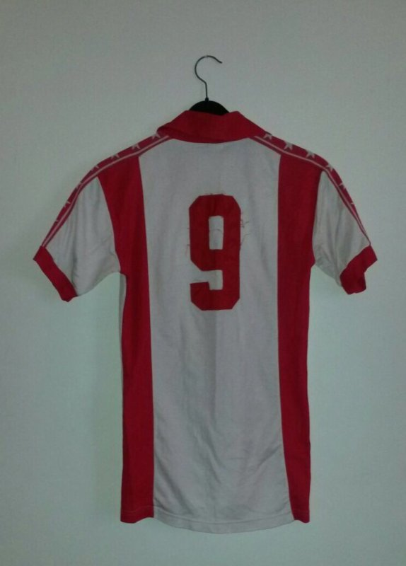 Red Star Belgrade Match Worn No.9
