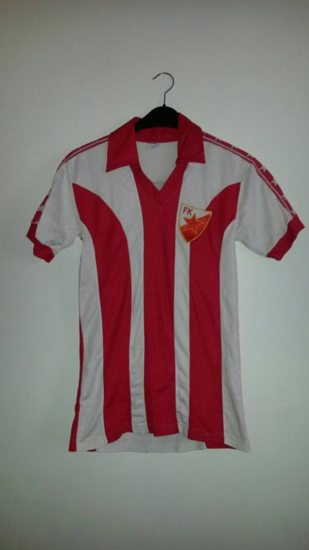 Red Star Belgrade Match Worn front