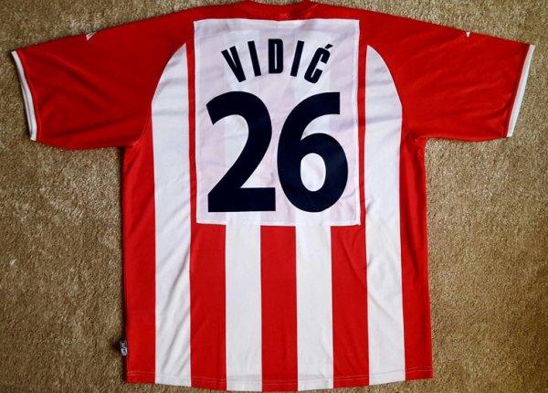 Crvena Zvezda Beograd  MW Vidic n.26