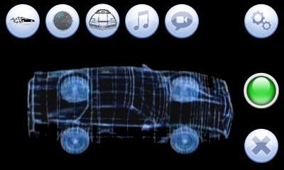 L'ordinateur de bord de la voiture