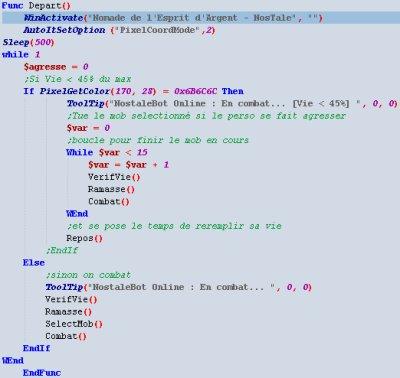 Bot Nostale/Dofus   Avec le logiciel AUTOIT V3
