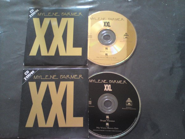 voici ma collection de cd 2titres