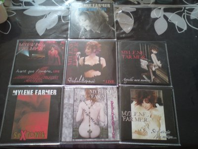 suite de ma collection de cd 2titres