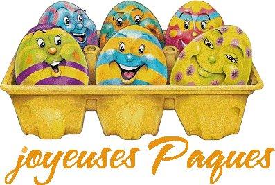 Bientôt Pâques!!!