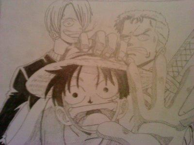 mes dessins one piece