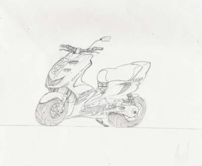 dessin nitro - skyblog officiel des scoot,pocket bike,dirt...